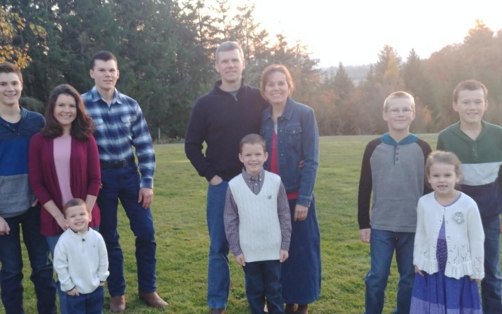 Steege Family, 2018