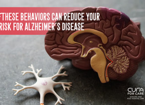 These Behaviors Reduce Your Risk for Alzheimer's Disease