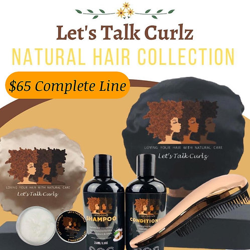 Let's Talk Curlz Full Natural Hair Aline