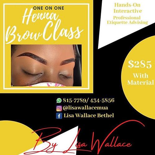 Henna Brow Class