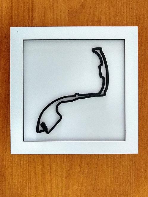 Quadro Circuito de Mônaco