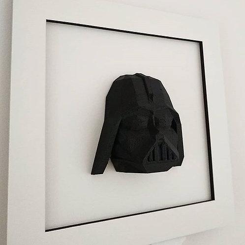 Quadro 3D - Darth Vader