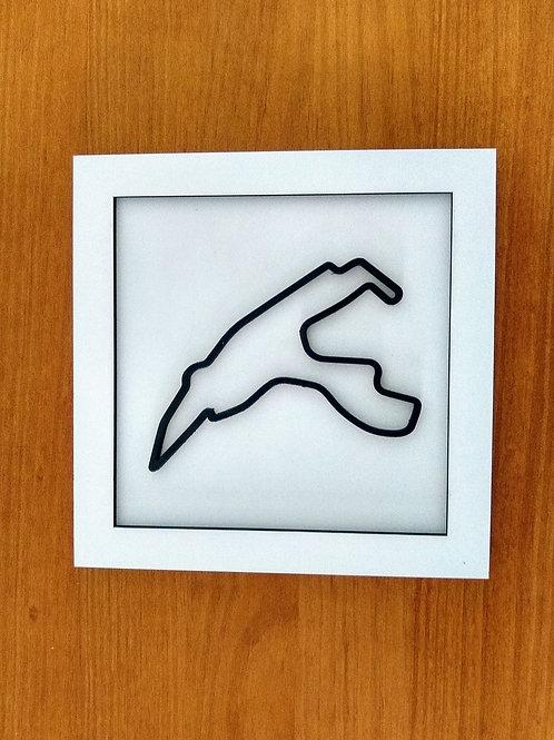 Quadro Circuito de Spa-Francorchamps