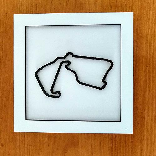 Quadro Circuito de Silverstone