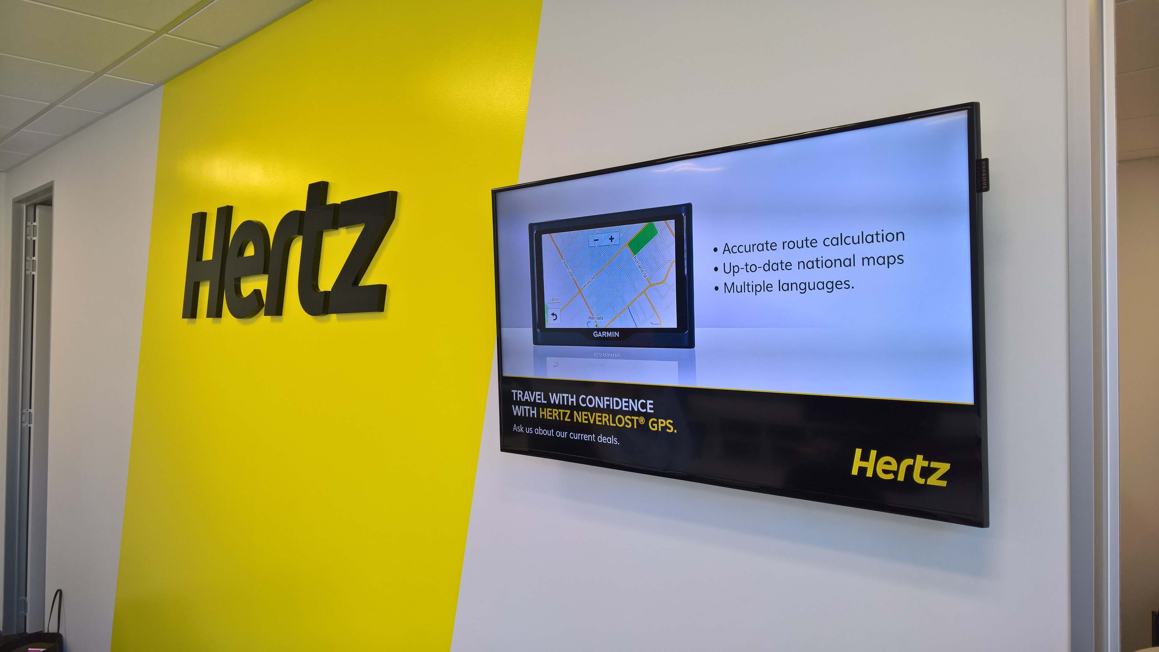 Hertz Fitout IRCP Christchurch