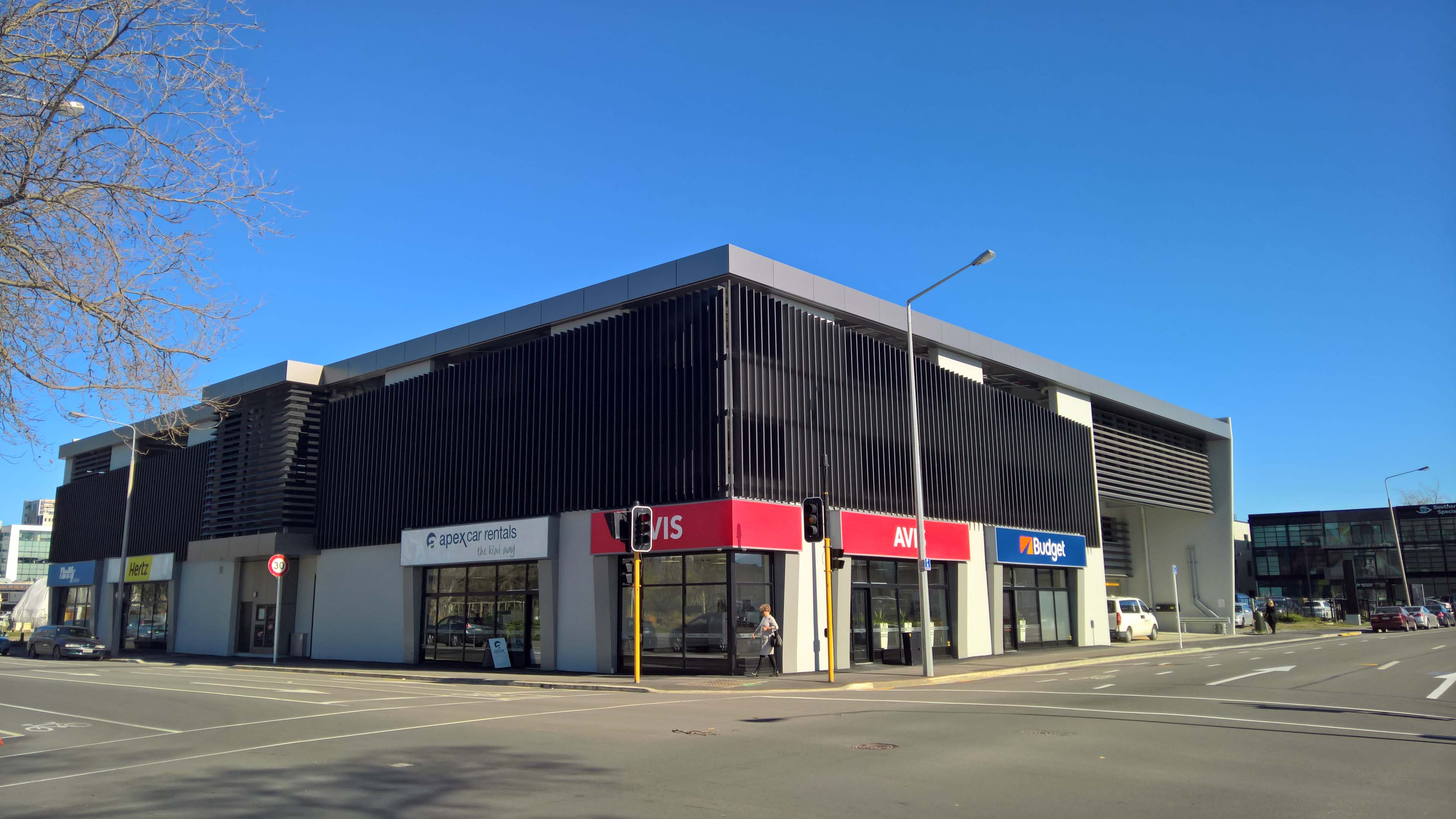 Hertz Fitout IRCP Christchurch
