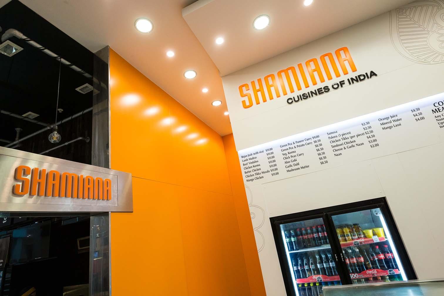 Shamiana Foodcourt Fitout