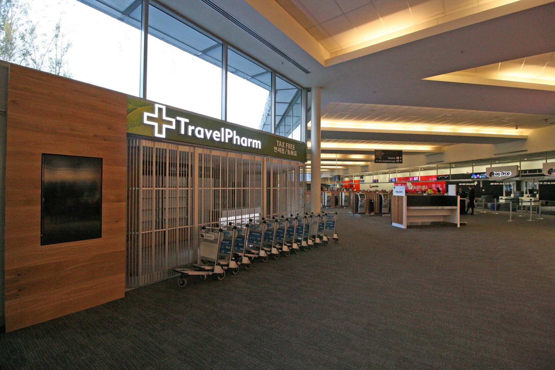 TravelPharm Fitout Queenstown