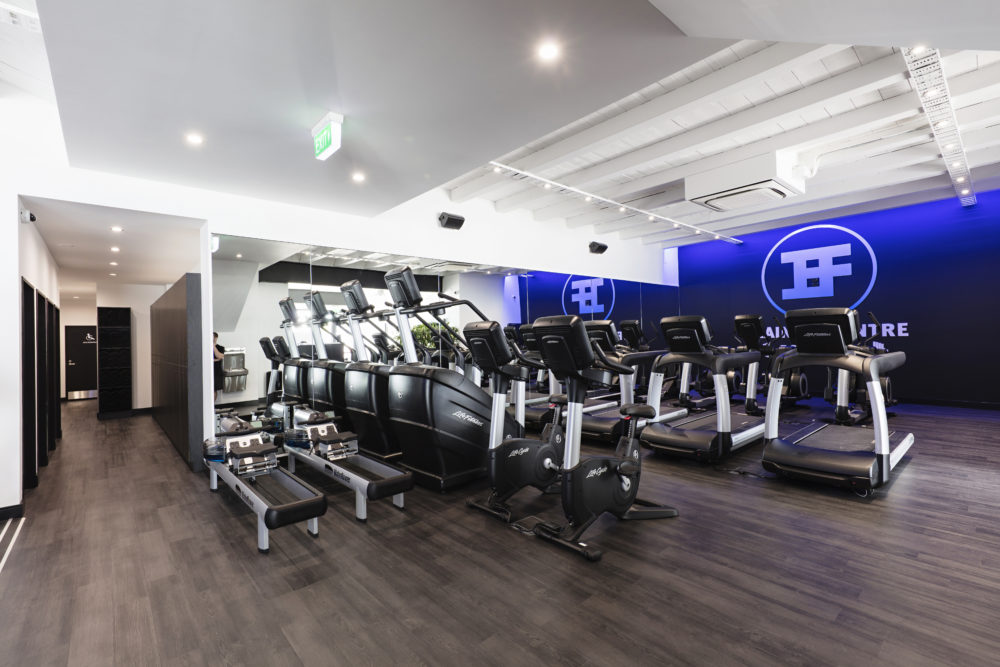 Iron Hood Gym Fitout Christchurch