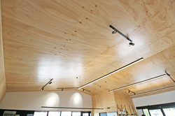 Southern-Woods-Fitout---Ply-Ceilings