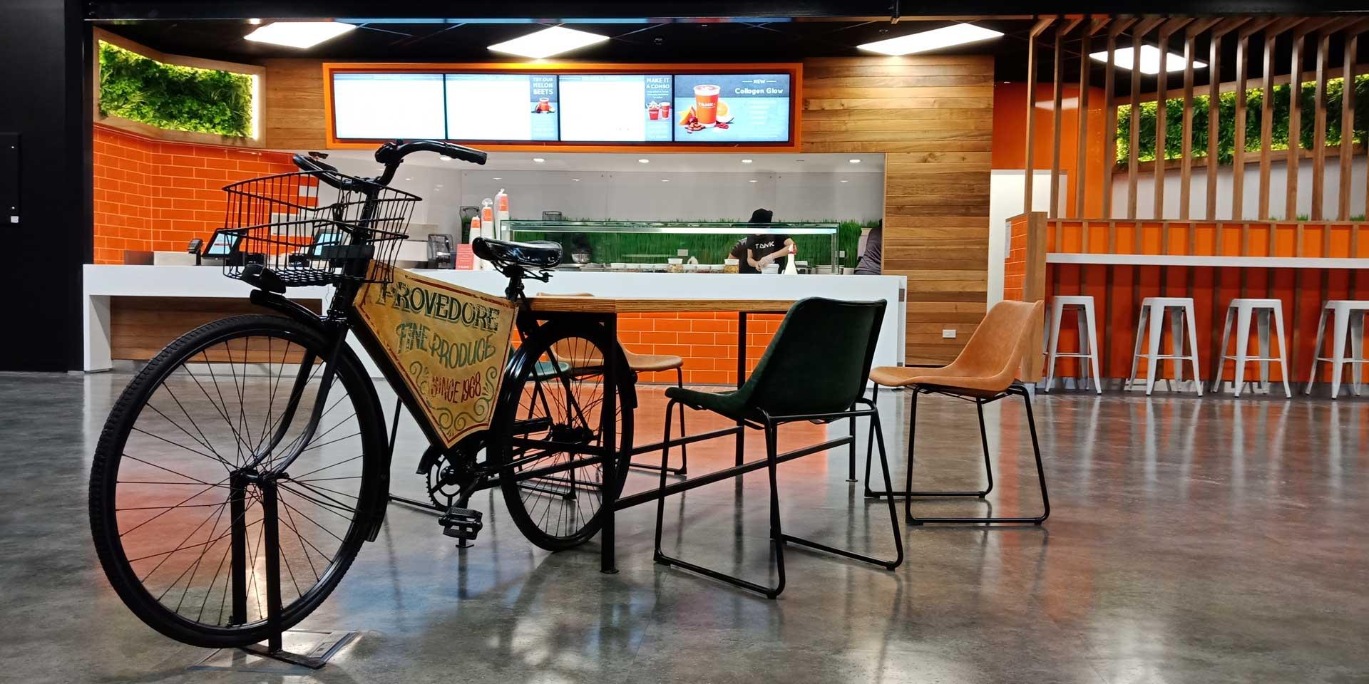 Old Bike Growers Market Fitout