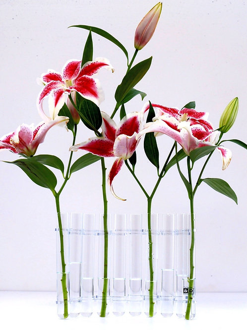 Flex Vase- 10 Tall Test Tubes