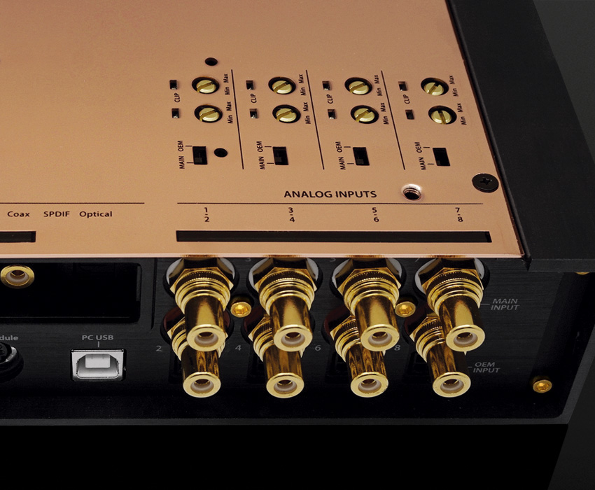 HDSP-Z16 V AD-16A Top Controls