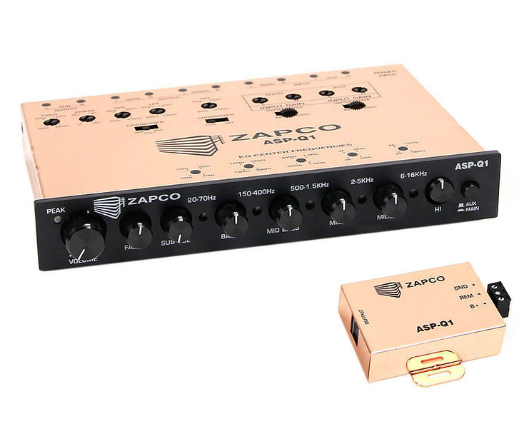 who makes a good half din preamp/eq these days? - Car Audio