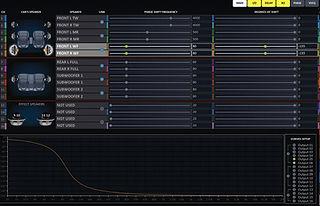 HDSP-V DCP GUI AP/Phase
