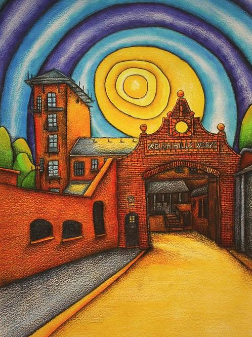Old Pop Factory A3 Art Print