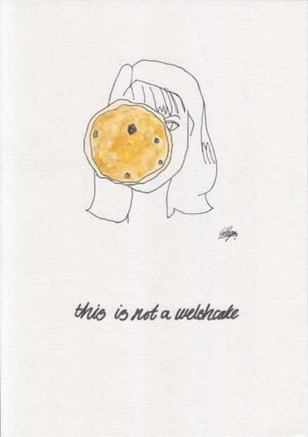 Gayle Rogers This is not a welshcake SML