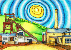 Lewis Methyr Colliery by Gayle Rogers