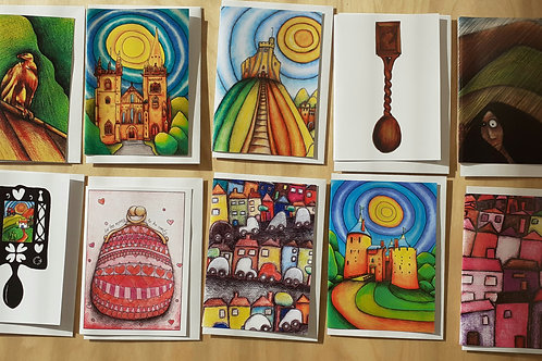 10 Art Cards Special