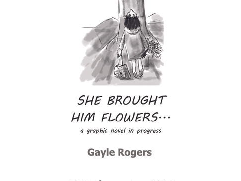 She Brought Him Flowers