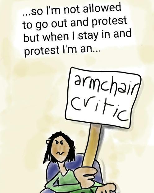 armchair critic gayle rogers.jpg