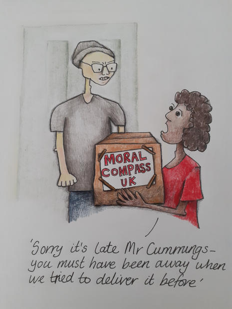 Moral Compass by Gayle Rogers
