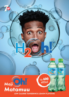 Launching water with taste, oh!