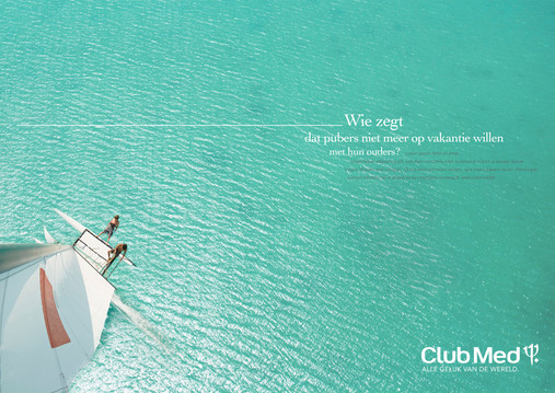Who said teenagers no longer want to go on holidays with their parents? Made @tbwa.be