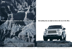 Launching the New Cherokee for the jungle called Europe