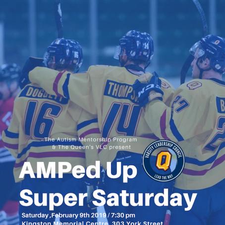 AMPed UP Super Saturday X Mens Hockey