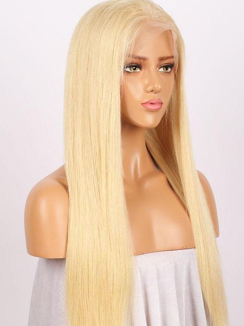 Lace Frontal Wigs - Straight (#613 Blonde)