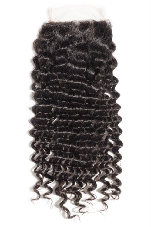 Closure - Brazilian Curly (Natural 1B)