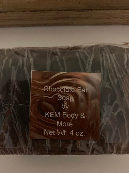 Chocolate Bar Soap-4 oz.