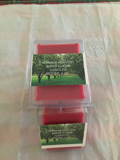 Summer Harvest Beeswax Soy Blend Tarts-4 oz.