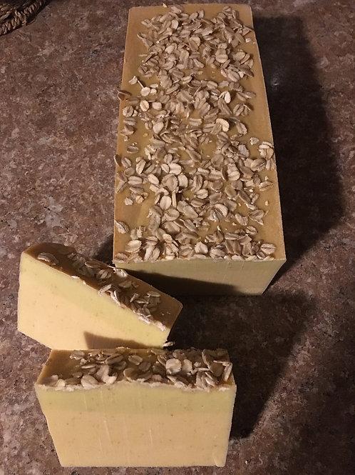 Oatmeal + Honey Goat's Milk Bar Soap-4 oz.