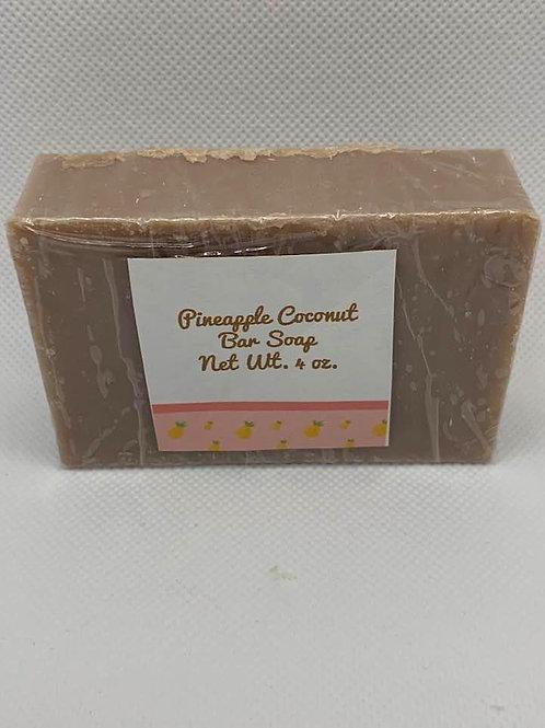 Pineapple Coconut Bar Soap-4 oz.