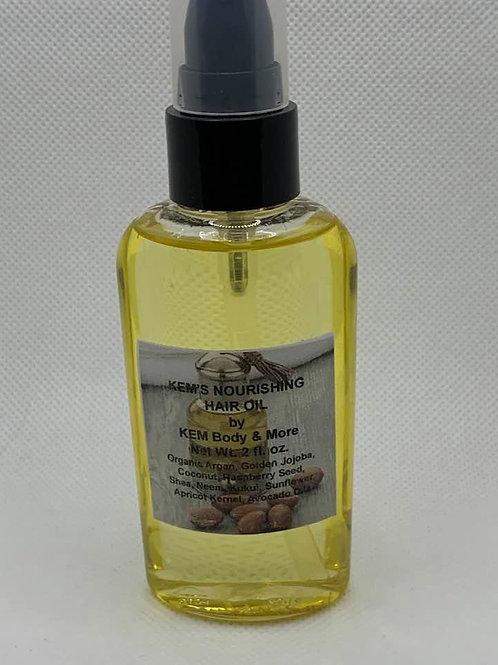 KEM Organic Hair Oil-2 oz.