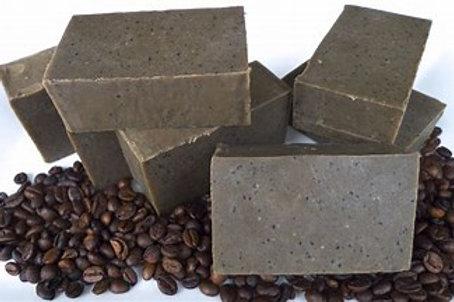 Coffee Glycerin Scrub Bars-4 oz.(Glycerin)