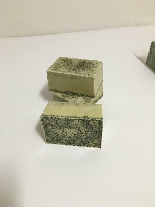Peppermint Glycerin Bar Soap-4 oz.