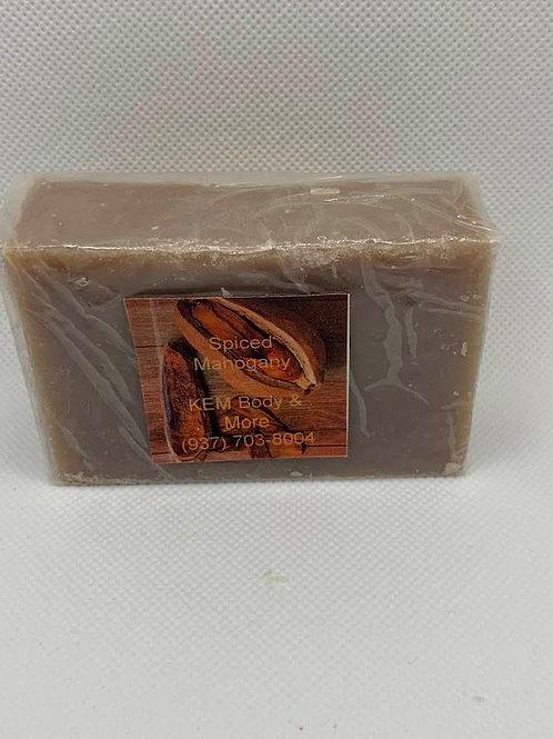 Spiced Mahogany Men's Bar Soap
