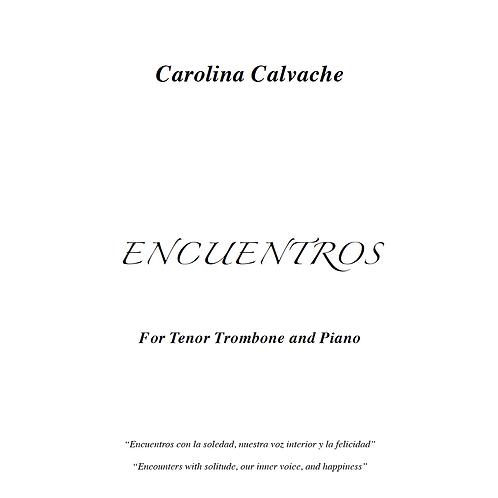 """""""Encuentros"""" PDF Score for Tenor Trombone & Piano"""
