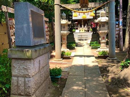 気象神社に「晴れ祈願」