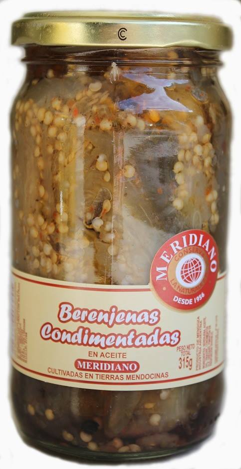 Berenjenas condimentadas