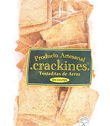 Crakines de Arroz, bolsa x 120gr