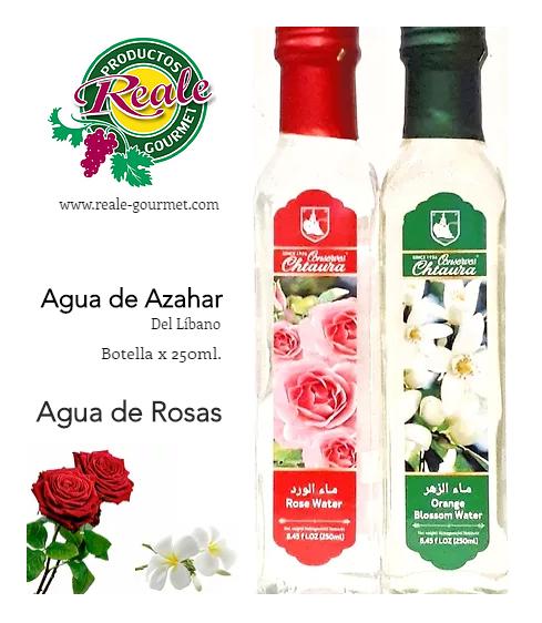 Agua de Azahar o Rosas