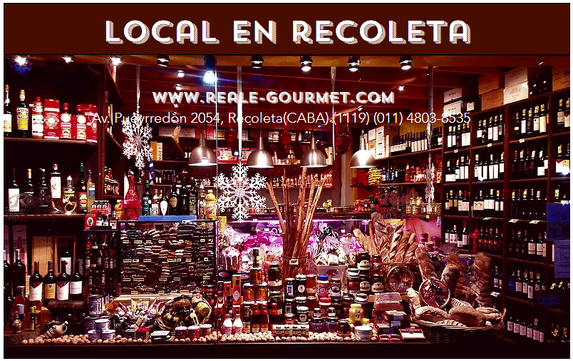 LOCAL EN RECOLETA