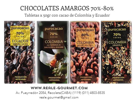 CHOCOLATES PURO CACAO, REALE SURTIDO