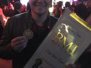 Adam Craig Receives BMI Award