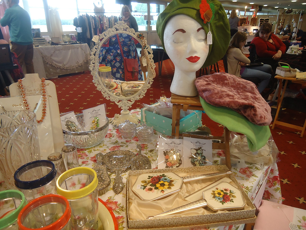 picture of vintage stock on Olive & Ednas show stand