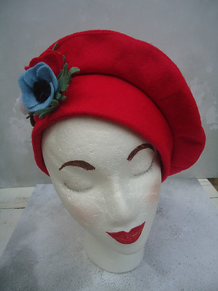 Vintage style Tam felt hat